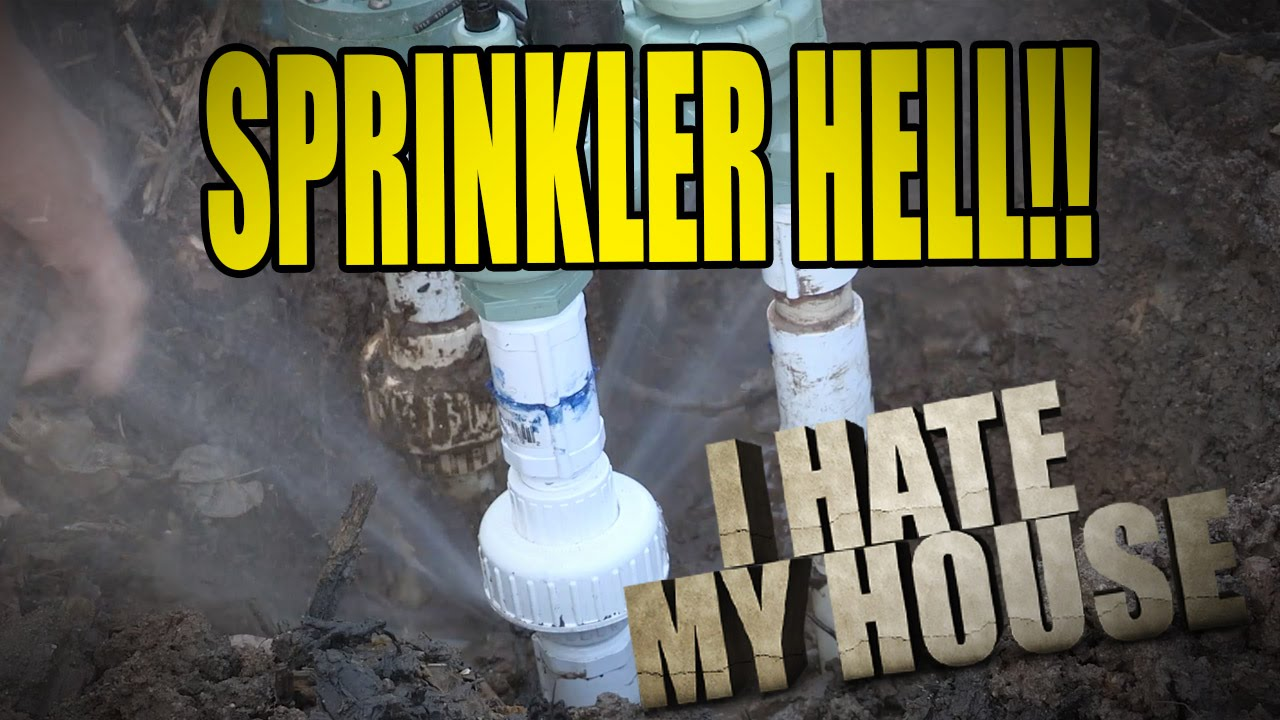 i hate my house sprinkler hell youtube. Black Bedroom Furniture Sets. Home Design Ideas