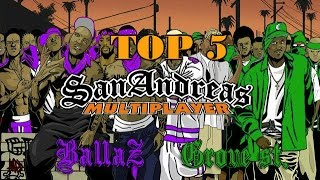 5 лучших банд и криминальных сфер в Сан Андреас / 5 best bands and criminal spheres in San Andreas