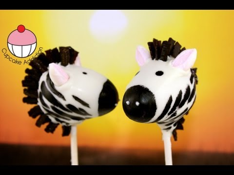 How To Make Jungle Themed Cake Pops