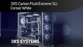 3XS Carbon Fluid Extreme SLI Gaming PC - Ultimate white PC?