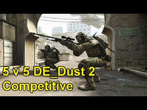 Counter Strike Global Offensive - E14 Competitive 5v5 on DE_Dust 2 Live Com