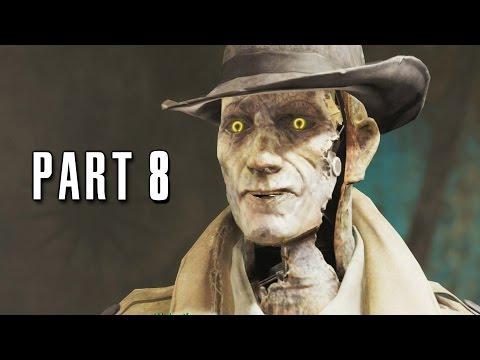 Fallout 4 Walkthrough Gameplay Part 8 - The Mayor (PS4)