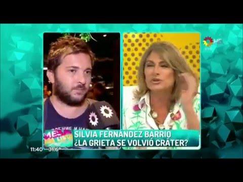 Duros adjetivos de Silvia Fernández Barrio a Brancatelli: Es un maltratador de mujeres