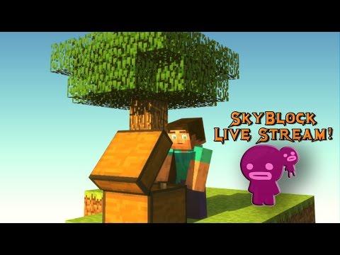 Minecraft Skyblock! Energy Storage! #1