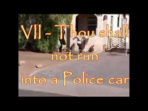 10 Rules for Stupid Criminals by 20 dumbest criminals caught on camera