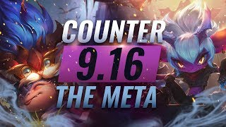 Counter The Meta: OP Counterpicks for EVERY Role - Patch 9.16 - League of Legends Season 9