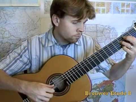 Leo Brouwer - Estudios Sencillos Viii