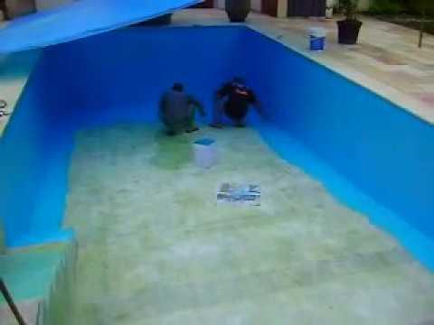 Revestimos sua piscina de azulejo com vazamento youtube - Azulejos piscinas ...