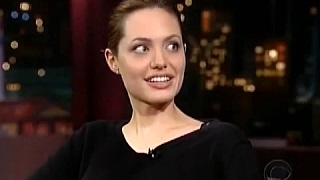 Angelina Jolie on David Letterman