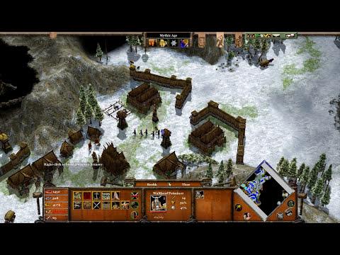 Age of Mythology EX - Mission 1 | Brokk's Journey | The Golden Gift Campaign [TITAN/1080p/HD]