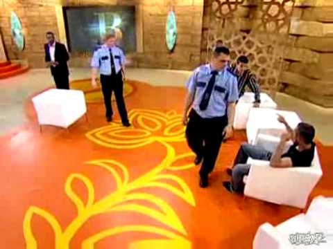 Bagarre dans un Show Tv Hongrois
