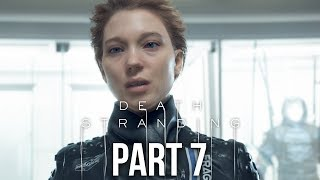 DEATH STRANDING Gameplay Walkthrough Part 7 - CRAFTSMAN (Full Game)