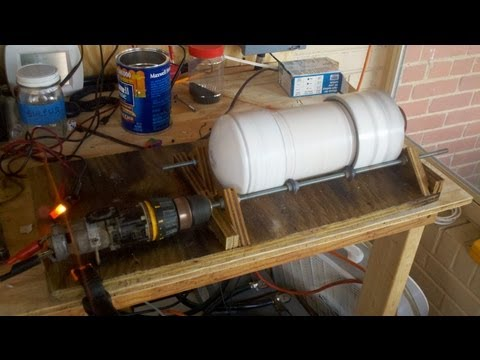 How to make a ball mill to process your own black powder
