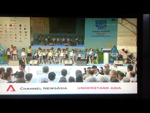 Farhana Channel News Asia, World Waterday Singapore, 16 March 2013
