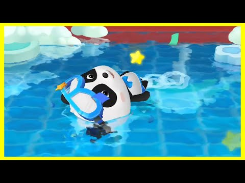 Play With Baby Panda in Sporting Events and Help Kiki Win – Fun Game for kids & Families