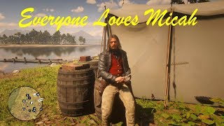 RDR2 Everyone Loves Micah Sitcom - Red Dead Redemption 2 PS4 Pro