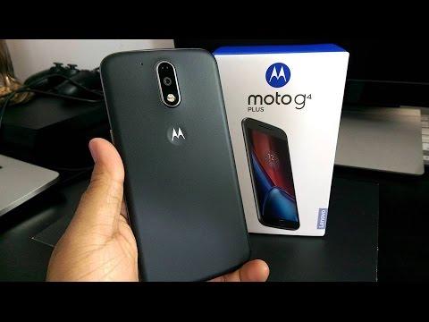 Moto G4 Plus   UNBOXING