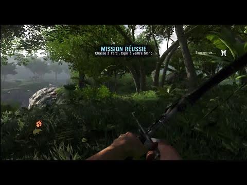 Far Cry 3 - La Voie du Chasseur : Le Tapir à Ventre Blanc