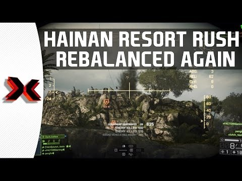 Hainan Resort Rush Rebalanced yet again! Attack Boat on the loose