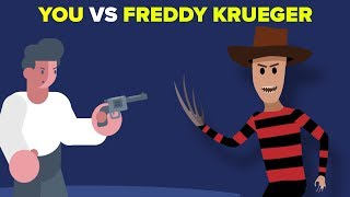 YOU vs FREDDY KRUEGER -How Can You Defeat and Survive It? (A Nightmare on Elm Street)