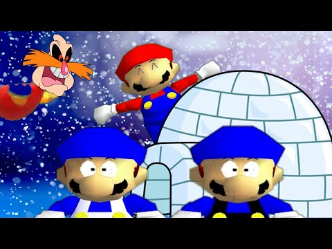 SM64 bloopers: SnowTrapped