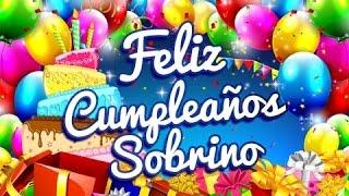 Feliz Cumpleaños Sobrino – Dedicatorias Para Un Cumpleaños | Etiquetate.net