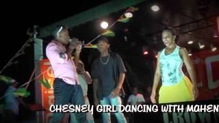 ALBION GIRL AND MAHENDRA DANCING-I DONT PLAY-ALBION SPORTS COMPLEX-BERBICE