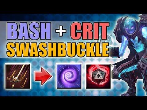 Void Time Lock + Swashbuckle Abuse [Always Bash + Crit Build] Dota 2 Ability Draft