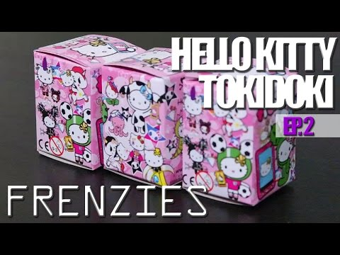 Tokidoki Hello Kitty Frenzies Blind Boxes! Ep 2 video