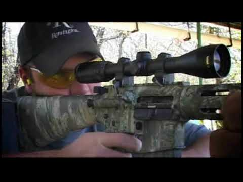 R-15, R-25 Remington Centerfire AR Platform Rifles Video