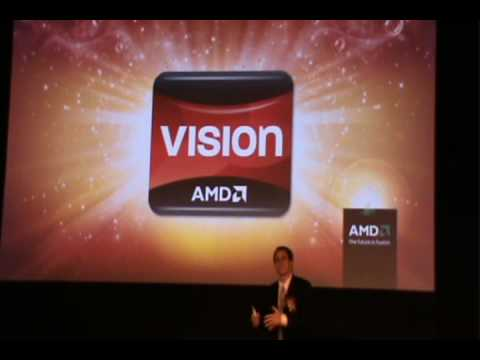 AMD Demos World's First Fusion APU