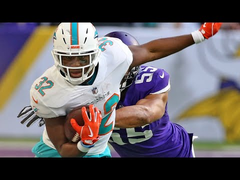 Dolphins RB Kenyan Drake says he played his 'worst game of the season' in defeat to the Vikings MP3