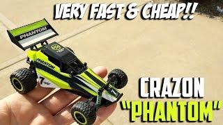 "Crazon ""Phantom"" R/C Car, Very Fast & Cheap!!"