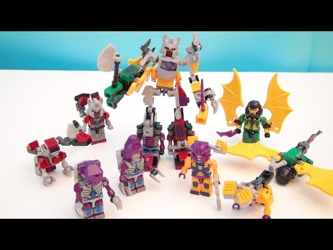 TRANSFORMERS KRE-O ABOMINUS MICRO CHANGERS COMBINERS PLAYSET VIDEO REVIEW