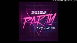 Chris brown party ft usher,gucci mane-party (clean)