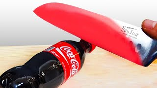1,000 Degree Knife vs Coca Cola