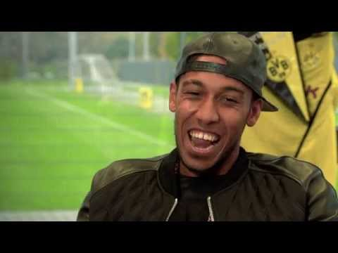 Pierre-Emerick Aubameyang interview for 2014 BBC African Footballer of the Year