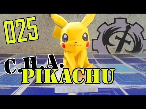 Como hacer a... Pikachu papercraft