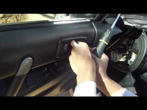 How to take the door panel off Eclipse 3g - YouTube
