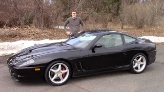 Here's Why the Ferrari 550 Maranello Is Worth $150,000 (Or More)