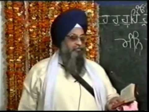 Gurbani Santhea - Japji Sahib - Giani Thakur Singh Ji video