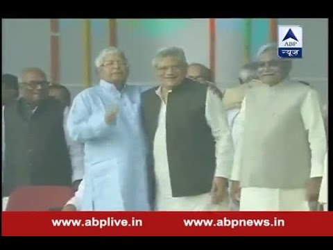 Nitish Kumar reaches Gandhi Maidan for oath-taking ceremony