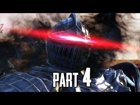 Dark Souls 2 Gameplay Walkthrough Part 4 - The Pursuer Boss (DS2)