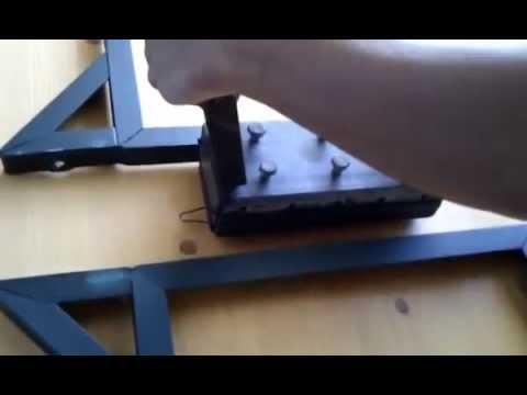 Panche in legno pieghevoli