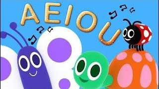 A And I O U - The Song Of The Vowels - Classics And Children's Songs | The Children's King for kids
