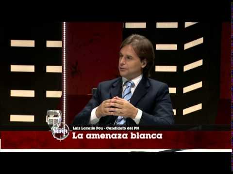 Entrevista al candidato blanco, Luis Lacalle Pou.