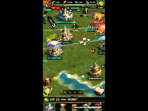 Defending Rally epic Kill! No Losses + Zeroing 4.4m power level 27 castle with level 38 skil!!!
