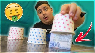 Find the Right Cup to Win !! اتحداك تختار الكوب الصح