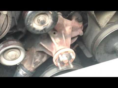 Removing water pump 1995 Chevy Silverado