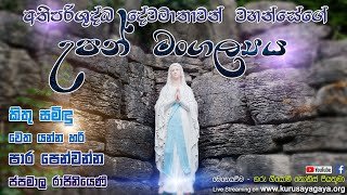 The Nativity of the Blessed Virgin Mary (Morning Holy Mass) - 08/09/2021
